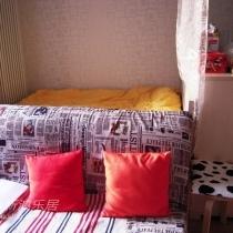 """从电视的方向,看一下我的""""卧室"""",hiahia~~~~~"""