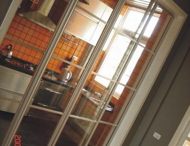 金属感的厨房