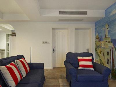 客厅沙发区域