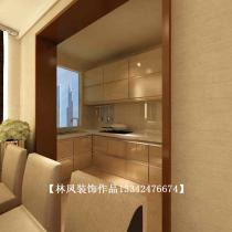 【林凤装饰】中海国际社区135㎡现代风格装修效果图