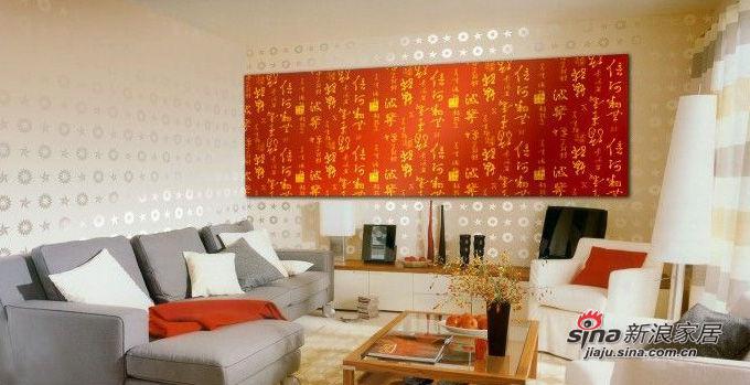 背景的墙纸和画布带来视觉上的立体感和凌乱美