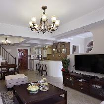 8万营造125平清新美式家 优雅宜人幸福空间