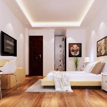 跟随轻装修重装饰的时代,并没有张扬复杂的设计,简简单单,温馨舒适是卧室的根本。