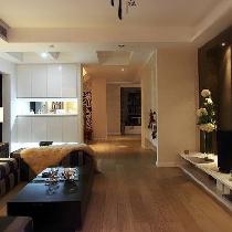 自然舒适的家 146平淡雅风情婉约复式