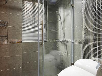 105平简约混搭3居的动人故事——卫生间