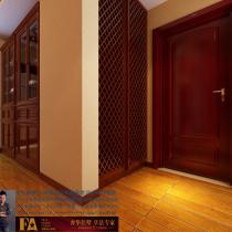 龙发装饰首席设计师许晓舵-碧水青园150平米欧式古典风格入户门