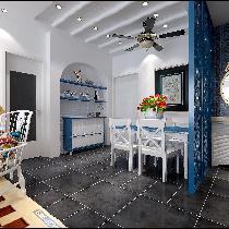 东城华庭-广州实创装饰-经济实用,美观大方,温馨典雅。