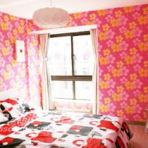 粉粉的漂亮卧室