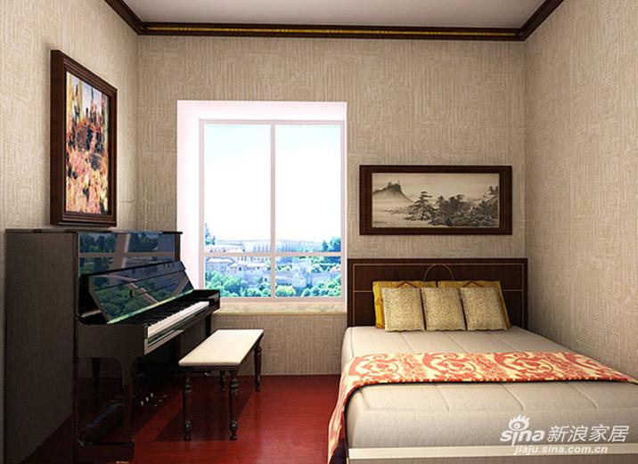 若想真实地诠释中式家居的内涵,金黄色是绝对少不了的,它的运用是有选择的,虽然只小范围的点缀,却有极强的装饰性,比如金黄色的靠垫、金黄色的桌垫、金黄色的墙面等等,也可以加进一些西式的饰品,再配以中式家具,整个房间会顿时充满生机,色彩也变得丰富起来。