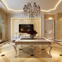 哈尔滨实创10万打造群力玫瑰湾242平精品奢华欧式风格