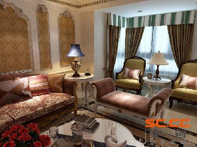 温馨的客厅静溢流转、片片阳光轻轻柔柔洒进来,倚在柔软宽大的沙发上翻着心爱的书籍,享受午后的阳光,温馨、平和,一杯原磨的卡布基诺,散发着浓郁的香气,这就是法式风格独有的浪漫之处。
