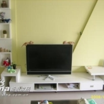自己设计制做的电视柜