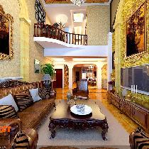 18万半包装修提香草堂239平米欧式别墅装修案例