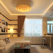 为了给业主创造一个简约、时尚、舒适的环境。