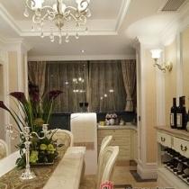 海归夫妻30万豪装140平极致奢华的欧式3居室