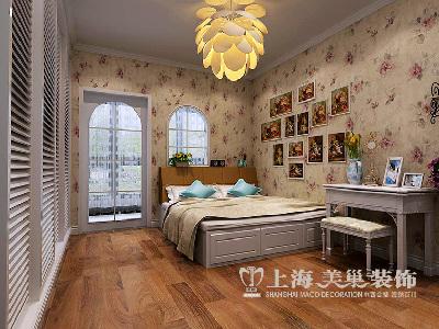 东润泰和装修三室两厅时尚暖意北欧样板间——儿童歌布局