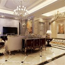 九龙仓别墅装修欧式风格设计方案展示