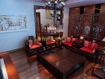 中式风格别墅设计作品_易尚唐大宅设计杨智晟作品