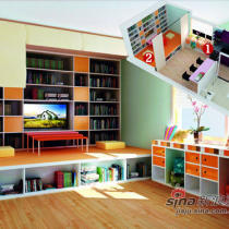 1室1厅再改造 色彩搭配超完美