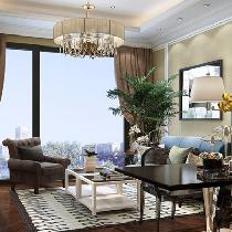 6万全包钱隆首府80平|简欧风格2居室|装修效果图