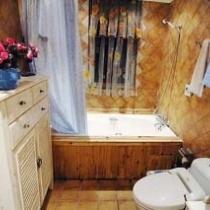 温暖的浴室