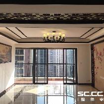 广元东方名都——雅典清新脱俗的203平米新中式风格