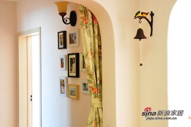 走廊的照片墙