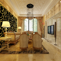 11.5万装饰142平米温馨三居室