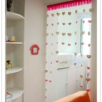 心动的那一处之【10】——可爱小阳台:全刺绣毛茸茸的帘子和可爱开关套