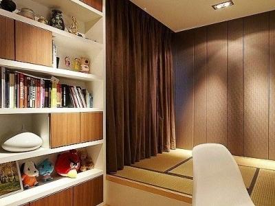 秋季时尚装修案例 暖暖现代简约三室一厅