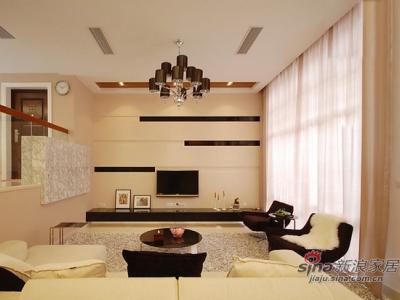 宽敞整洁,低调的彰显家居的舒适感与大宅气势。