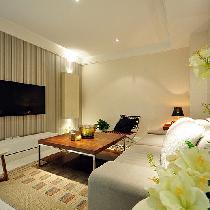67平似百平5.8万元轻松打造现代时尚两居室
