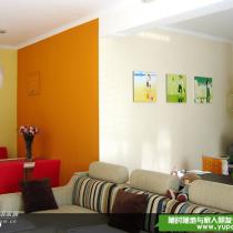客厅主题:色之渐变