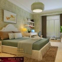 龙发装饰首席设计师许晓舵-国际城160平米中西混搭风格孩子卧室