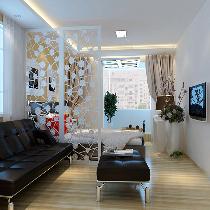 三居改两居-6.5万翻新安华里小区80平米现代温馨的三口之家居所