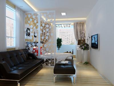 北京市朝阳区安华里一区-80平米现代简约风格装修
