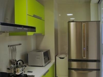 厨房,苹果绿,每天做饭都有好心情