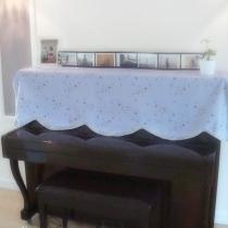 钢琴背景墙, 更新更新放入钢琴的照片哦