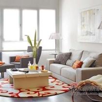 时尚Loft装修效果图 跳跃色彩营造完美的家