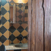 卫生间的折门