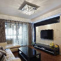 110平现代简约3居室 沉稳大气秀时尚