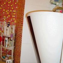 洗手池的侧面