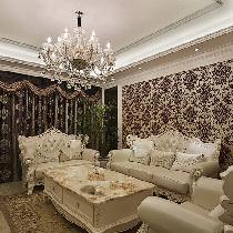 150平浪漫欧式4居室 打造卡布奇诺质感家居