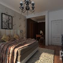 巨华朗域117平米现代风格装修——呼市鼎盛创典装饰