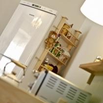 冰箱上实用的小架子,现在成了零食架了
