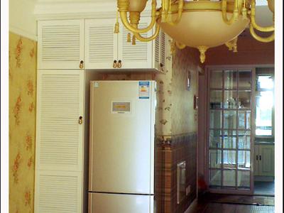 冰箱终于归位,灰色的颜色和旁边的柜子还是蛮搭配的。试了一下功能,一切OK