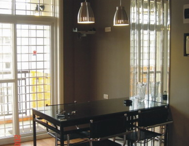 餐厅,餐桌的自己设计的