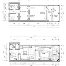 放大蜗居生活-暴晒42平米超小户型老公房大变身!