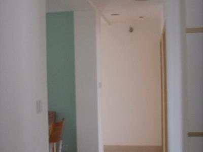 走廊,网上看到的吊顶图片自己设计了叫工人做的