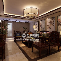 沈阳龙湖唐宁ONE540平新中式风格效果图